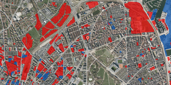 Jordforureningskort på Lyngbyvej 18, st. , 2100 København Ø