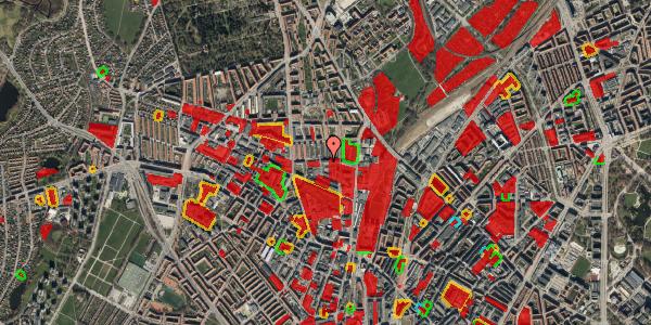 Jordforureningskort på Bygmestervej 21B, 1. th, 2400 København NV