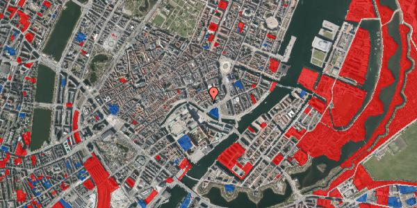 Jordforureningskort på Admiralgade 29, 1066 København K
