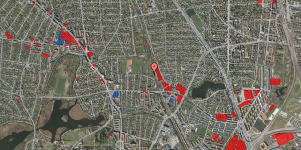 Jordforureningskort på Rødhalsgangen 1, 2400 København NV