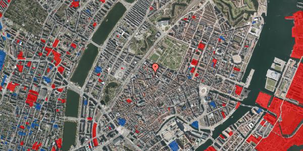 Jordforureningskort på Hauser Plads 1, 3. , 1127 København K