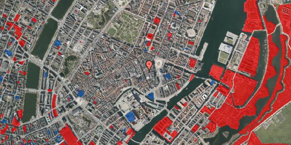 Jordforureningskort på Bremerholm 3, st. , 1069 København K