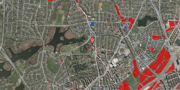 Jordforureningskort på Orgelbyggervej 7, 2400 København NV