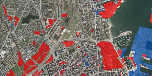Jordforureningskort på Svanemøllens Kaserne 81, 2100 København Ø