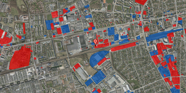 Jordforureningskort på Sydvestvej 129B, 2600 Glostrup