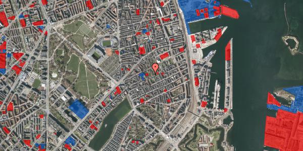 Jordforureningskort på Rosenvængets Allé 37A, 2100 København Ø