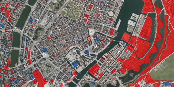 Jordforureningskort på Dybensgade 1, 1071 København K