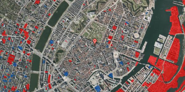 Jordforureningskort på Vognmagergade 9, 1. , 1120 København K