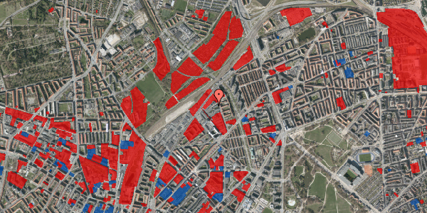 Jordforureningskort på Emblasgade 51, 1. tv, 2100 København Ø