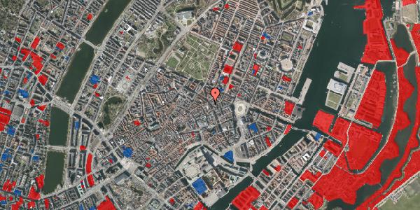 Jordforureningskort på Gammel Mønt 7, 1117 København K