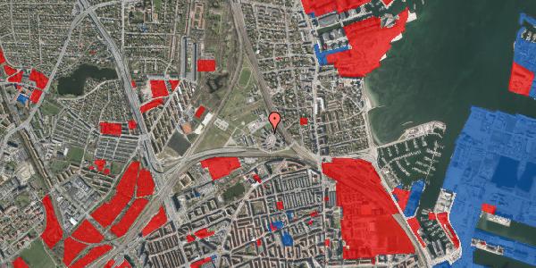 Jordforureningskort på Svanemøllens Kaserne 40, 2100 København Ø