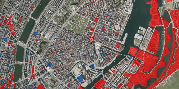 Jordforureningskort på Ny Østergade 10, 4. th, 1101 København K