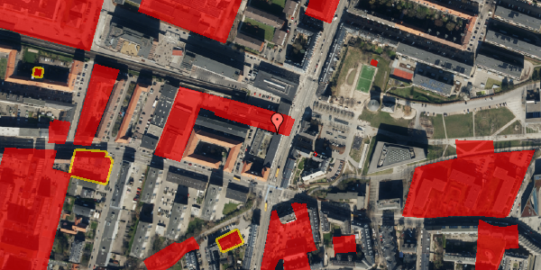 Jordforureningskort på Nordre Fasanvej 17F, 3. 5, 2000 Frederiksberg