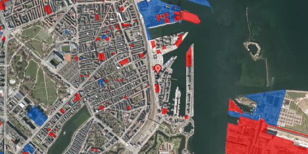 Jordforureningskort på Kalkbrænderihavnsgade 4D, 3. th, 2100 København Ø