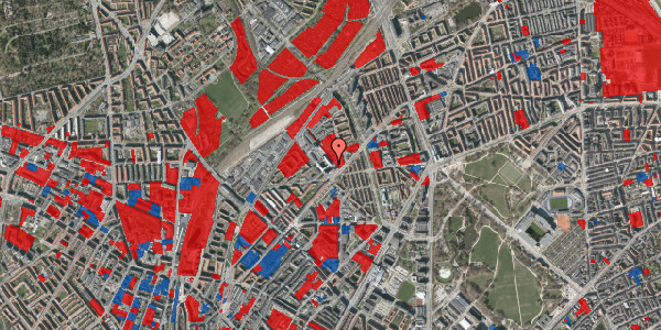 Jordforureningskort på Vermundsgade 38E, 2. tv, 2100 København Ø