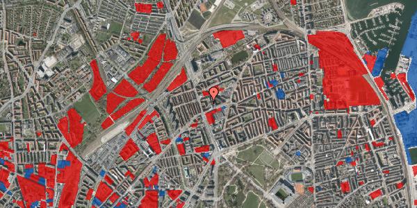 Jordforureningskort på Kristineberg 3B, 5. , 2100 København Ø