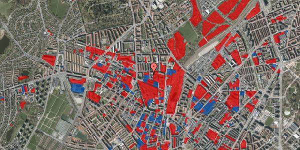 Jordforureningskort på Bygmestervej 1B, 1. th, 2400 København NV