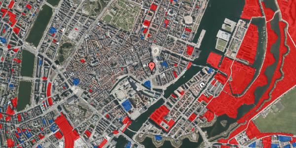Jordforureningskort på Bremerholm 33, 1069 København K