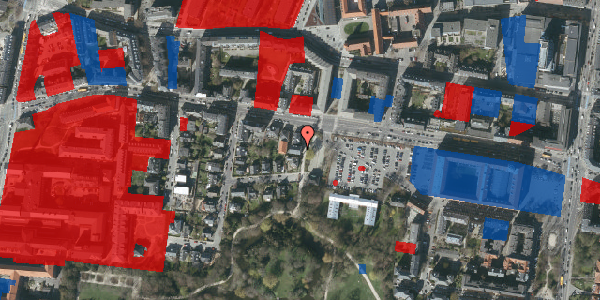 Jordforureningskort på Andebakkesti 4, 2000 Frederiksberg