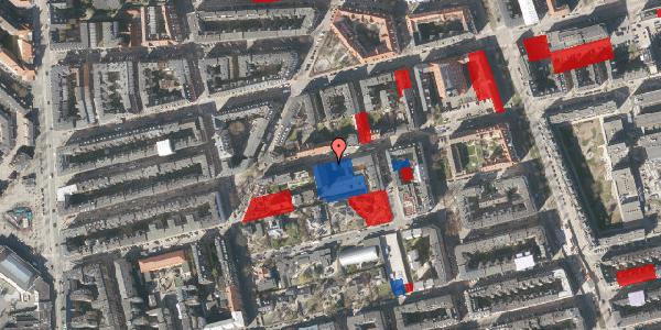 Jordforureningskort på Viborggade 70, 3. , 2100 København Ø
