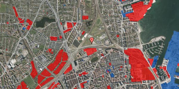 Jordforureningskort på Svanemøllens Kaserne 101, 2100 København Ø
