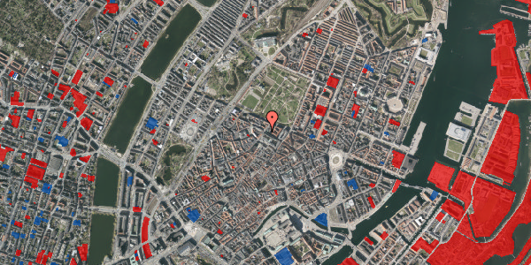 Jordforureningskort på Vognmagergade 11, 1. th, 1120 København K