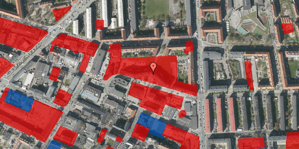 Jordforureningskort på Dortheavej 2D, 3. th, 2400 København NV