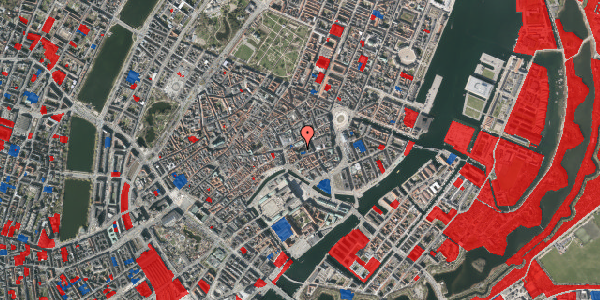 Jordforureningskort på Nikolaj Plads 10, 1. , 1067 København K