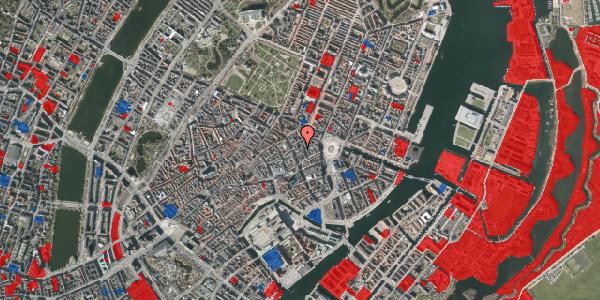 Jordforureningskort på Østergade 24B, 4. tv, 1100 København K