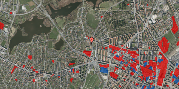 Jordforureningskort på Efterslægtsvej 6A, 2400 København NV