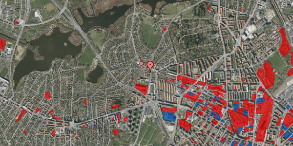 Jordforureningskort på Efterslægtsvej 14A, 2400 København NV