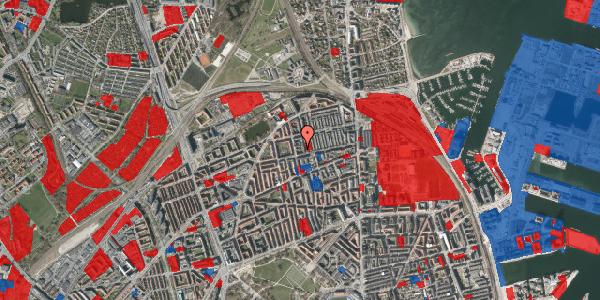 Jordforureningskort på Landskronagade 56B, 1. , 2100 København Ø