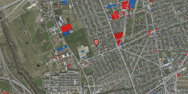 Jordforureningskort på Hf. Dahlia 25, 2650 Hvidovre