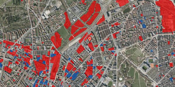 Jordforureningskort på Emblasgade 165, 1. tv, 2100 København Ø