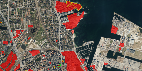 Jordforureningskort på Strandpromenaden 49, st. , 2100 København Ø