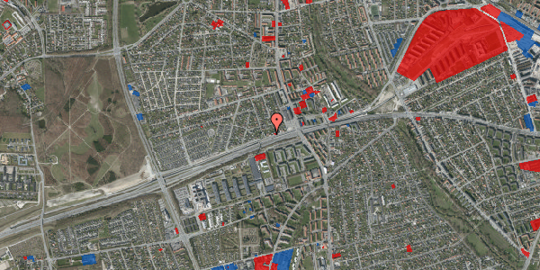 Jordforureningskort på Allingvej 20, 2650 Hvidovre