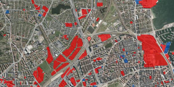 Jordforureningskort på Lyngbyvej 102, 2100 København Ø