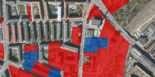 Jordforureningskort på Bisiddervej 33, 4. th, 2400 København NV