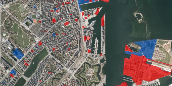 Jordforureningskort på Amerika Plads 7, 7. , 2100 København Ø