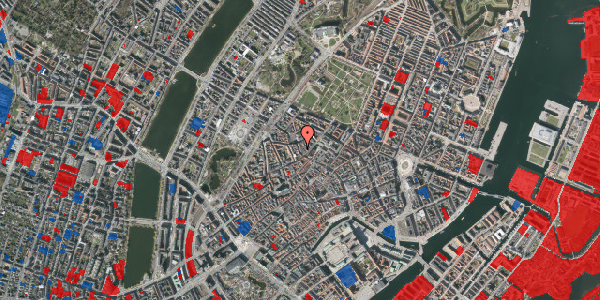 Jordforureningskort på Købmagergade 60, 2. th, 1150 København K