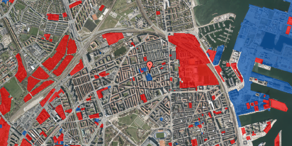 Jordforureningskort på Masnedøgade 32, st. , 2100 København Ø