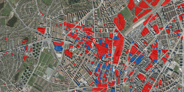 Jordforureningskort på Glasvej 23, 1. , 2400 København NV