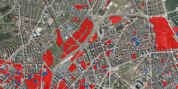 Jordforureningskort på Rovsingsgade 29B, 2100 København Ø