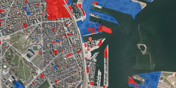 Jordforureningskort på Marmorvej 11A, 1. th, 2100 København Ø