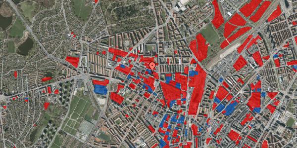 Jordforureningskort på Rentemestervej 42B, 1. 1, 2400 København NV