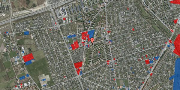 Jordforureningskort på Bibliotekvej 43, 2650 Hvidovre