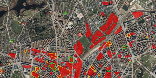 Jordforureningskort på Bispebjerg Bakke 19, 2400 København NV