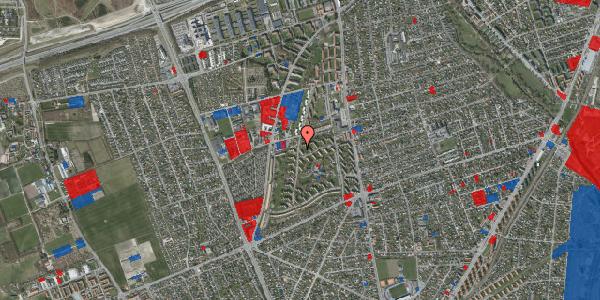 Jordforureningskort på Berners Vænge 38A, 2650 Hvidovre