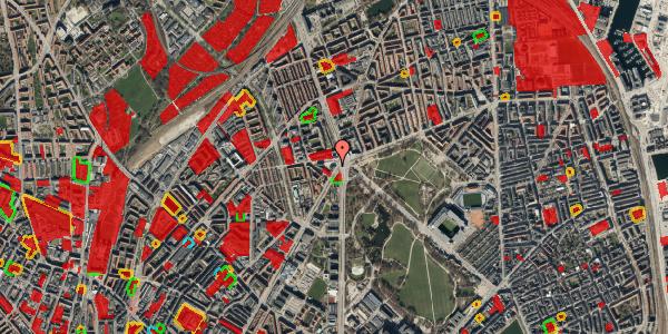 Jordforureningskort på Jagtvej 169A, 3. th, 2100 København Ø