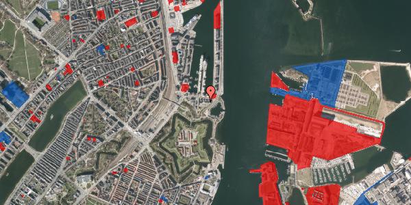 Jordforureningskort på Indiakaj 14B, st. tv, 2100 København Ø